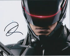 Joel KINNAMAN SIGNED Autograph 10x8 Photo AFTAL COA ROBOCOP Rare Alex MURPHY