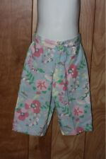 TODDLER GIRL'S BABY GAP FLORAL PANTS-SIZE: 2XL(2 YEARS)