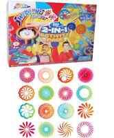 Mega Spirograph Spira Graph Swirling Art Set Desktop Spinner Paint & Pens 160494