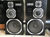 YAMAHA NS-1000M Studio Monitor Speakers Vintage 1975 Original Working Perfect
