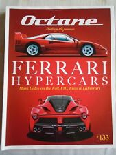 Octane No 133 Jul 2014 Ferrari F40, F50, Enzo & LaFerrari, Ford GT40