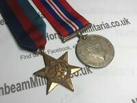 Original World War Two Medal Grouping, 1939/45 Star and 1939/45 War