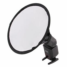 20cm Round Flash Softbox Diffuser for Canon 600EX 580EX II 430EX II 430EX 420EX