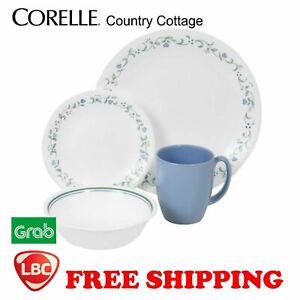 Corelle country cottage blue 16 PC dinnerware set original box