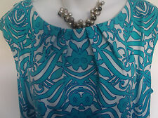 NEW with TAG  M&Co  Abstract Floral Design in Graduated Colour Pencil Dress  18
