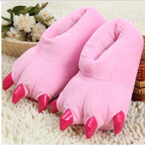 Claw Shoes Adult Men & Women Animal Cartoon Cosplay Pajamas Slippers Paw