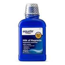 Equate Milk Of Magnesia Saline Laxative Liquid, 1200 mg, 26 Oz