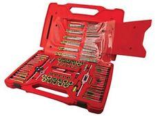 ATD Tools 277 Machine Screw, frac & Metric Tap & Die Drill Bit Set