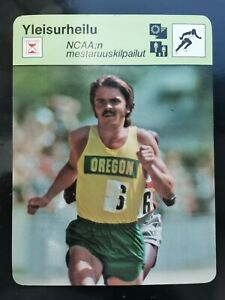Finnish Sportscaster 1978 Steve Prefontaine NCAA Championship Rookie