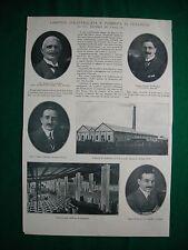 Nel 1920 Roma A. De Martino A. De Camillis E. Piumatti congresso stampa Firenze