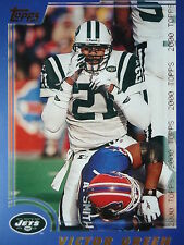 NFL 98 Victor Green New York Jets TOPPS 2000