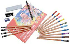 Beginner Drawing & Sketching Pencil Eraser Blending Stump Sketch Pad Set Reeves