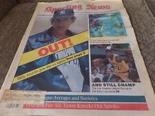 1988 THE SPORTING NEWS - 6 VINTAGE ISSUES