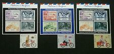 Postman's Uniform  Malaysia 2012 Bicycle Motorcycle (stamp title) MNH *see scan