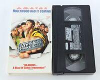 Jay And Silent Bob Strike Back VHS Kevin Smith Ben Affleck Jason Lee Chris Rock