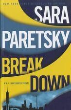 A V. I. Warshawski Novel: Breakdown by Sara Paretsky (2012, Hardcover, Large Pri