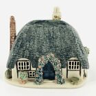 Vtg+Ann+Cox+Ceramics+Pottery+Fairy+Thatched+Roof+White+Cottage+Sussex+England+