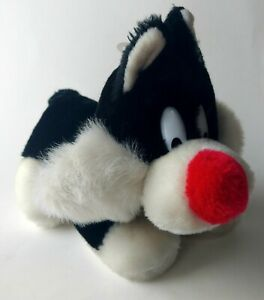 "Sylvester JR Plush 1993 24K Stuffed Animal Looney Tunes 10"" Toy Vintage Tag"
