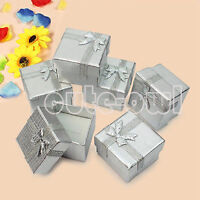 New 24 Pcs Jewelry Gift Paper Boxes Ring Earring Necklace Watch Bracelet Box