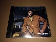 JUNIOR WELLS * JUNIOR'S WAIL * RARE CHICAGO BLUES CD ALBUM EXCELLENT JASMCD 3041