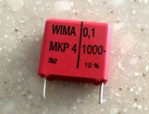 1nF 0.001uF 2000V MKP AC and Pulse Film-Foil Capacitors
