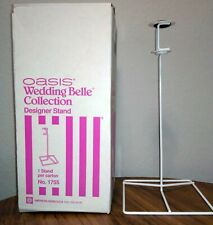 Metal Oasis Wedding Belle Collection Designer Stand for Bride Bouquet New