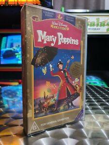 Mary Poppins - Walt Disney Classics - VHS Video Tape
