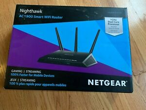 Netgear Nighthawk Smart Wifi Router (AC1900) Model# R7000 - used