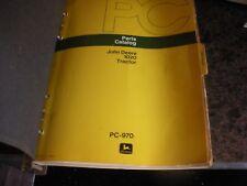 John Deere 1020 Tractor Parts Catalog, Ipl Parts List Tractor Tractor,Pc 970