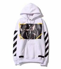 Mens Off White Hoodie Religion Jesus Our Lady Kanye West Abloh Virgil Pullover