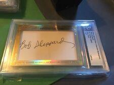 2013 Leaf Bob Sheppard Auto 1/1 Signed Autograph New York Yankees