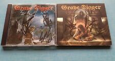 Grave Digger - 2 albums Full signed / autographe - Excalibur / The last Supper