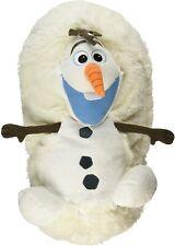 "New ListingDisney Olaf Frozen Hide Away Pets Pillow Frozen Plush Polyester White 14"""