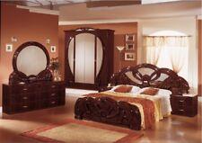 """Neue Luxus Schlafzimmer """"Giada"""" Mahagoni oder Weiß. Italienische Möbel."""