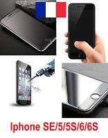 Vitre iPhone SE/6/6S/5/5S/5C protection verre trempé film protecteur écran apple