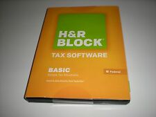 H&R Block 2014 Basic Federal only. Imports Turbotax. Sealed retail box.