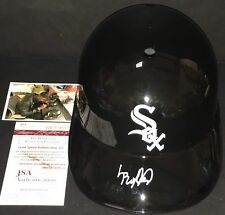 Luis Robert Chicago White Sox Signed Full Size Souvenir Helmet JSA WITNESS COA A