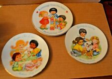 Three (3) Avon Collector's Plates Mother's Day 1989, 1990 & 1993 5""