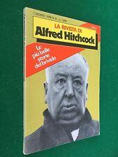 LA RIVISTA DI ALFRED HITCHCOCK n.6 , Ed. Rizzoli (1978) Libro storie del brivido