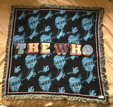 The Who Blanket - Exclusive 2017 North American Tour VIP Package Merch Item
