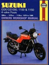 Haynes Manual 0737 - Suzuki GSX1000, GSX1100ES, GSX1100EFE, GSX1100S Katana