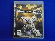 ps3 ARMORED CORE For Answer PAL UK REGION FREE