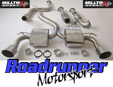 "Milltek Scarico Focus RS mk2 3"" Turbo Back Sistema non RES & Race CAT TUBI DI SCOLO"