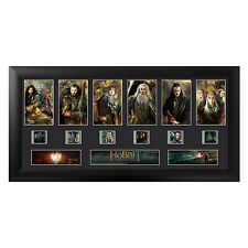 FILM CELLS The Hobbit Battle Of Five Armies Character Montage Framed Display NEW