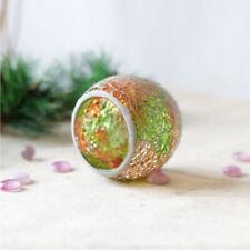Moroccan Mosaic Glass Votive Candle Tea Light Holder Candelabra Candlestick 3''