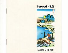 CD LEVEL 42	staring at the sun	HOLLAND EX (B0828)