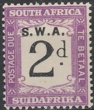 South West Africa (Namibia) 1928 Postage Due SG D44 (MLH)