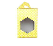 SCATOLA ASTUCCIO in cartone per vaso miele da 1 kg (giallo) -OFFERTA 50 pezzi