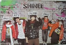 "SHINEE ""STANDING BY BRICK WALL"" ASIAN POSTER - Korean Boy Band, K-Pop Music"