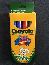 Crayola Changeables Markers-4 pack-Trix Yoplait Promotion-New & Free Shipping